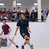 2012 Men's College Squash Association National Team Championships: Juan Pablo Gaviria (Rochester) and Tom Mullaney (Harvard)