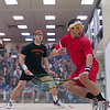2012 Men's College Squash Association National Team Championships: Alex Domenick (Cornell) and Chris Callis (Princeton)