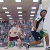 2012 Men's College Squash Association National Team Championships: Antonio Diaz Glez (Trinity) and Brandon McLaughlin (Princeton)