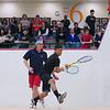 2012 Men's College Squash Association National Team Championships: Trevor McGuinness (Penn) and Christopher Fernandez (St. Lawrence)