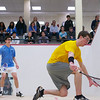 2012 Men's College Squash Association National Team Championships: Theo Buchsbaum (Columbia) and Nicholas Greaves-Tunnell (Williams)