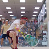 2012 Men's College Squash Association National Team Championships: Miled Zarazua (Trinity) and Gary Power (Harvard)