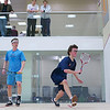 2012 Men's College Squash Association National Team Championships: McGee O'Neil (Hobart) and Henry Miller (Tufts)