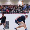 2012 Men's College Squash Association National Team Championships: Johan Detter (Trinity) and Samuel Kang (Princeton)