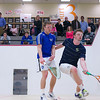 2012 Men's College Squash Association National Team Championships: Pete Gabranski (Colby) and Larkin Brinkworth (George Washington)<br /> <br /> Published on page 38 of Squash Magazine (March 2012)