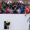 2012 Men's College Squash Association National Team Championships: Reinhold Hergeth (Trinity) and Kelly Shannon (Princeton)