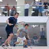 2012 Men's College Squash Association National Team Championships: Kevin Kent (Hobart) and Jeremy Ho (Tufts)