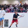 2012 Men's College Squash Association National Team Championships: Thomas Mattsson (Penn) and Ramit Tandon (Columbia)