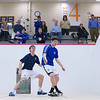 2012 Men's College Squash Association National Team Championships: Ben York (Colby) and David Moxley (George Washington)