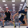 2012 Men's College Squash Association National Team Championships: Miled Zarazua (Trinity) and Tyler Osborne (Princeton)<br /> <br /> Published on page 36 of Squash Magazine (February 2012)