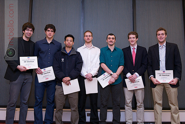 2012 Men's College Squash Association National Team Championships: 2011 All-Americans