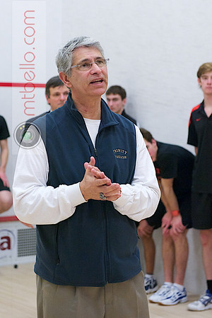 2012 Men's College Squash Association National Team Championships: Paul Assaiante (Trinity)