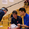 2012 Men's College Squash Association National Team Championships: Penn's Daniel Judd, Thomas Mattsson, Randy Lim