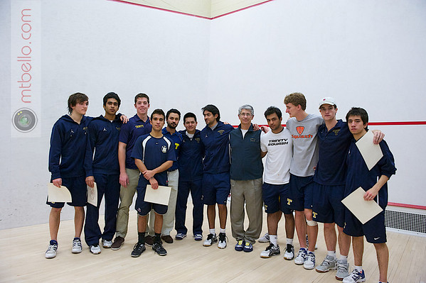 2012 Men's College Squash Association National Team Championships: Trinity College - 2012 Potter Cup Finalists