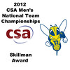 2012 Men's College Squash Association National Team Championships: Skillman Award - Benjamin Fischer (Rochester)