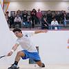 2012 Men's College Squash Association National Team Championships: William Abrams (Navy) and Alec Goldberg (Columbia)