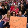 2012 Men's College Squash Association National Team Championships: Katie Giovinazzo, Casey Cortes, and Daphne Rein-Weston