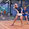 2012 NESCAC Championships: Elena Laird (Middlebury) and Amanda Thorman(Hamilton)