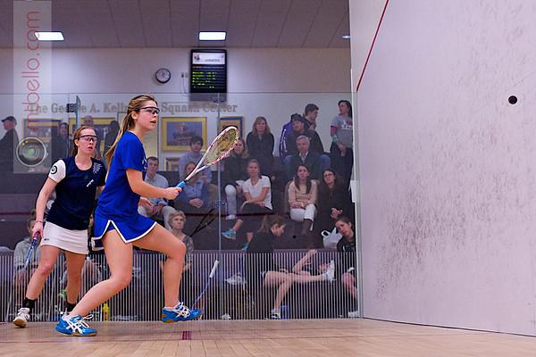 2012 NESCAC Championships: Elizabeth Morris (Hamilton) and <br /> Lindsay Becker (Middlebury)