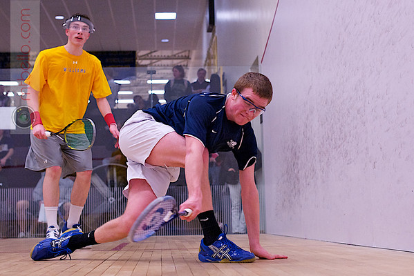 2012 NESCAC Championships: Christopher Wilkinson (Williams) and Reed Palmer (Middlebury)