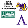 2012 NESCAC Women's Championships: #1s - Alli Rubin (Williams) and Chandler Lusardi (Amherst)