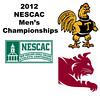 2012 NESCAC Men's Championships: #2s - Miled Zarazua (Trinity) and R.J. Keating (Bates)
