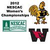 2012 NESCAC Women's Championships: #5s - Pamela Larromana (Trinity) and Grace Zimmerman (Wesleyan)