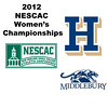 2012 NESCAC Women's Championships: #3s - Charlotte Dewey (Middlebury) and Claire Corroon (Hamilton)