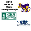 2012 NESCAC Men's Championships: #1s - William Morris (Williams) and Valentin Quan (Middlebury)