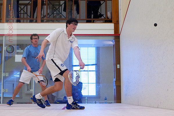 2012 Pioneer Valley Invitational: John Eder (Colby) and Andrew Meleney (Tufts)