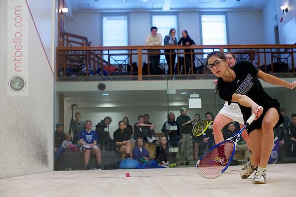2012 Pioneer Valley Invitational: Arielle Lehman (Amherst) and Emma Haley (Wellesley)