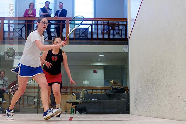 2012 Pioneer Valley Invitational: Lauren Nelson (Wesleyan) and Hillary Gray (Hamilton)