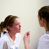 2012 Pioneer Valley Invitational:  Hamilton's Amanda Thorman and Hillary Gray