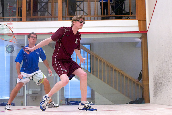2012 Pioneer Valley Invitational: Michael Sankovich (Vassar) and Harry Smith (Colby)