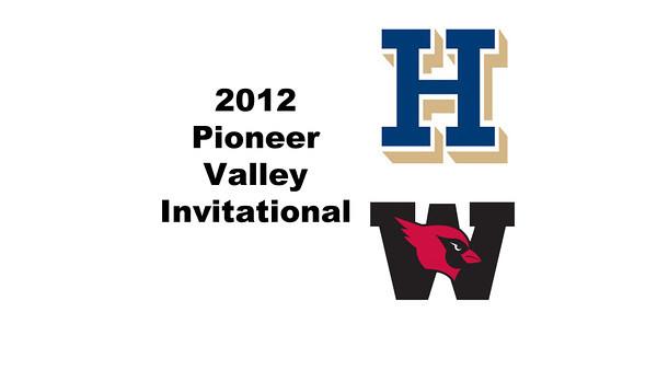 2012 Pioneer Valley Invitational: #W2s - Hilary Gray(Hamilton) and Lauren Nelson (Wesleyan)
