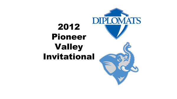 2012 Pioneer Valley Invitational: #W3s - Halley Cruice (Franklin & Marshall) and Paige Dahlman (Tufts)