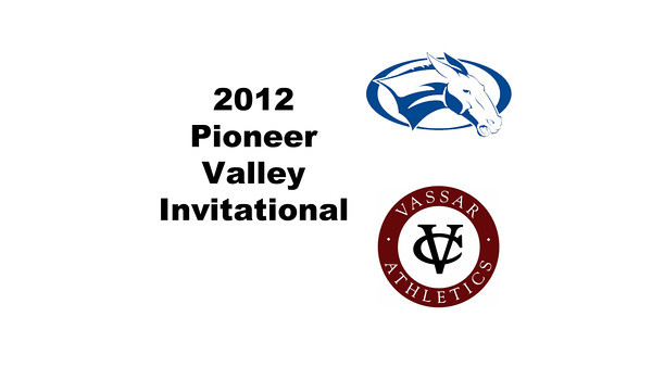 2012 Pioneer Valley Invitational: #W2s - Molly Parsons (Colby) and Margaret Taylor (Vassar)