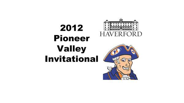 2012 Pioneer Valley Invitational: #2s - Daniel Pelaez (Hobart) and Andrew McComas (Haverford)