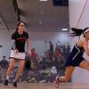 2013 College Squash Individual Championships: Elizabeth Eyre (Princeton) and Pia Trikha (Penn)