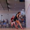 2013 College Squash Individual Championships: Hallie Dewey (Princeton) and Chloe Mitchell (Bates)