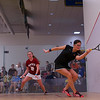 2013 College Squash Individual Championships: Hallie Dewey (Princeton) and Chloe Mitchell (Bates)