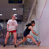 2013 College Squash Individual Championships: Rachael Goh (Penn) and Jaime Laird (Cornell)
