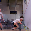2013 College Squash Individual Championships: Sam Fenwick (Yale) and Reinhold Hergeth (Trinity)