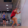 2013 College Squash Individual Championships: Stephanie Vogel (Penn) and Molly Parsons (Colby)