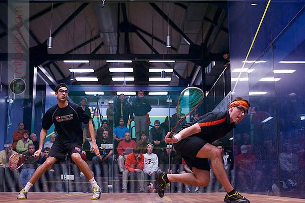 2013 College Squash Individual Championships: Amr Khaled Khalifa (St. Lawrence) and Tyler Osborne (Princeton)