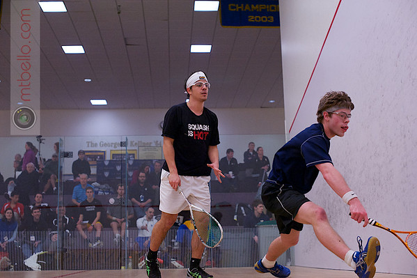2013 College Squash Individual Championships: Blake Reinson (Brown) and Pedro Almeida (Franklin & Marshall)