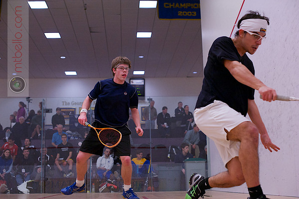 2013 College Squash Individual Championships: Blake Reinson (Brown) and Pedro Almeida (Franklin & Marshall)