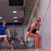 2013 College Squash Individual Championships: Nina Scott (Dartmouth) and Lillian Fast (Yale)
