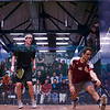 2013 College Squash Individual Championships: Todd Harrity (Princeton) and Ahmed Abdel Khalek (Bates)