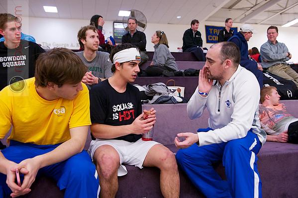 2013 College Squash Individual Championships: Pedro Almeida (Franklin & Marshall) and Gavin Jones